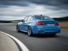BMW M3 Berlina Curva Dietro