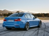 BMW M3 Berlina Tre Quarti Posteriore
