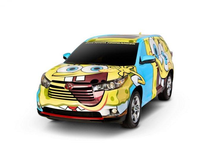 toyota-highlander-spongebob