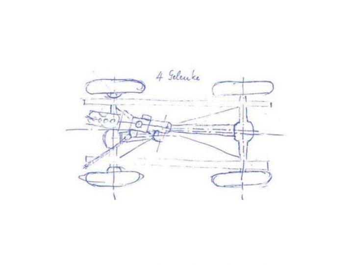 Unimog-Sketch