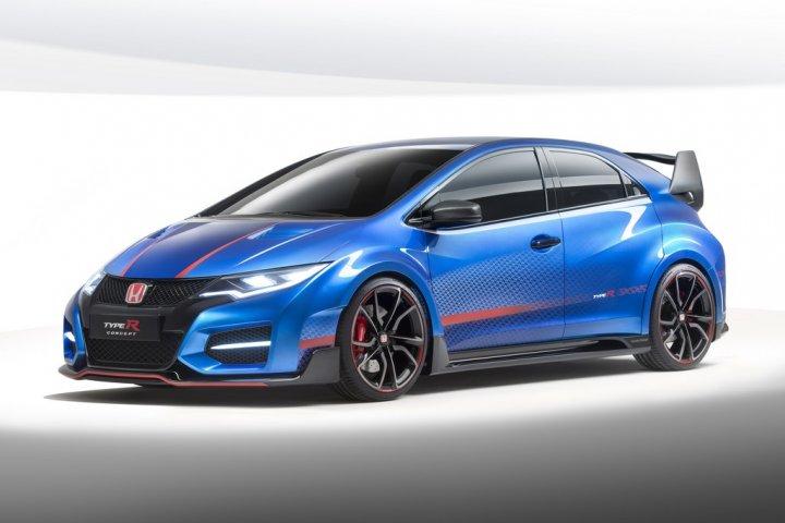 Honda-Civic-Type-R-Concept-Tre-Quarti-Anteriore
