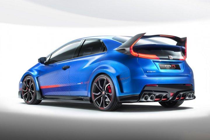 Honda-Civic-Type-R-Concept-Tre-Quarti-Posteriore