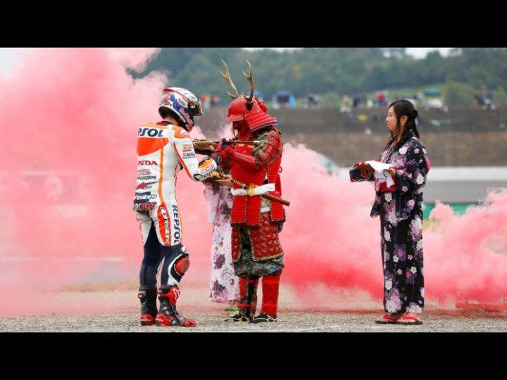 MotoGP-2014-Motegi-Marc-Marquez-Samurai