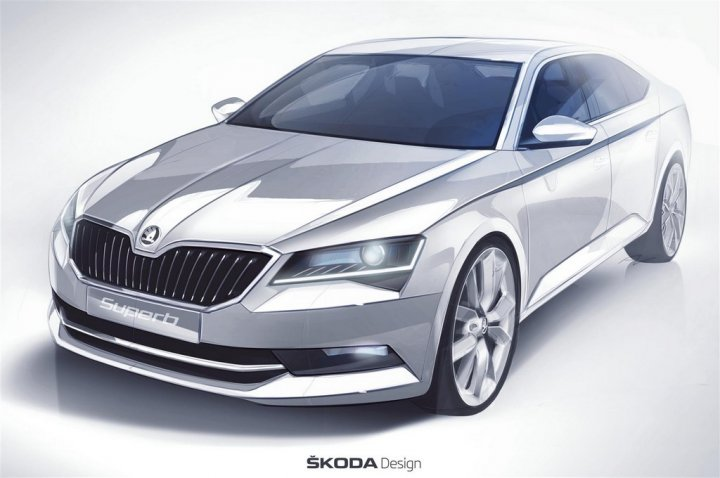 Skoda-Nuova-Superb-Sketch
