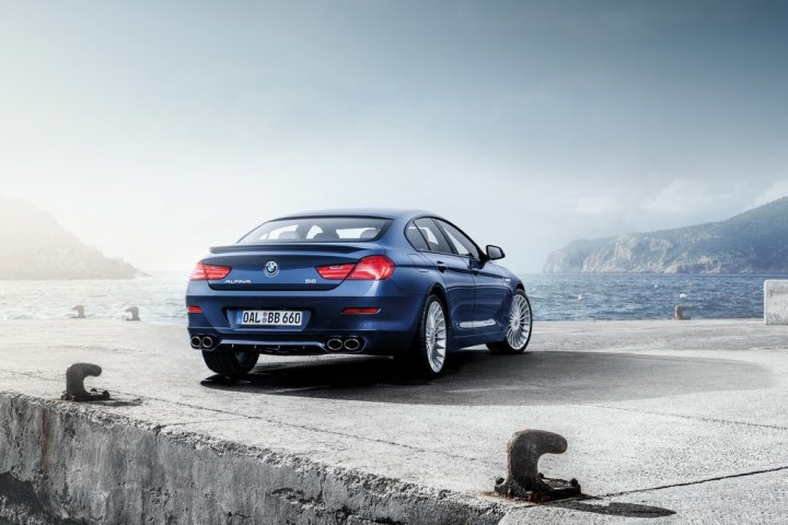 BMW-ALPINA-B6-xDrive-Gran-Coupe-Tre-Quarti-Posteriore