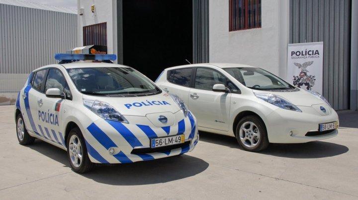 Nissan Leaf Polizia Portoghese