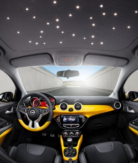 Opel-Adam-Interni-Tetto-Stellato