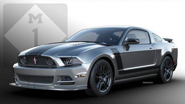 Mustang Boss 302 Laguna Seca