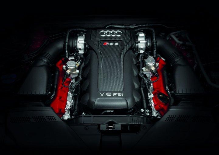 Audi RS5 Cabrio Motore