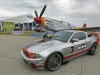 Ford 2013 Red Tails Mustang con Aereo