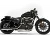 Harley Davidson 883 Sporsters Iron Italia Special Edition Lato Scarichi