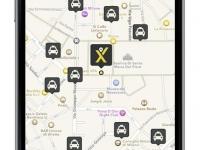 mytaxi-App-mappa
