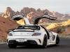 Mercedes-SLS-AMG-Black-Series-White-Dietro-Ali-di-Gabbiano
