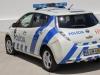 Nissan Leaf Polizia Portoghese Dietro