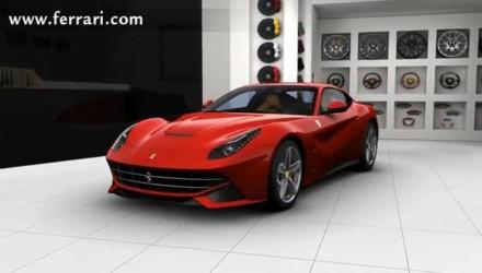 Primo filmato 3d della Ferrari F12 Berlinetta