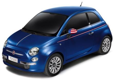 La numero uno dalla Fiat 500 America in asta su Twitter