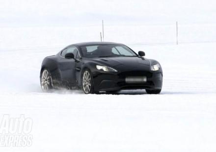 Spiata la nuova Aston Martin DB9