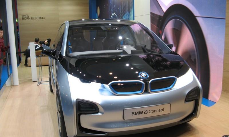 BMW i3 in produzione nel 2013