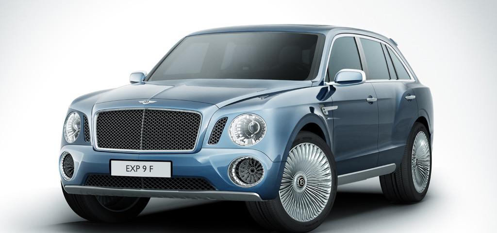 Il concept SUV Bentley presentato al Salone di Ginevra