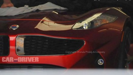 Fisker Nina spy photo