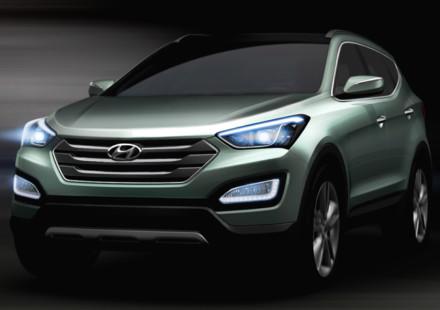 La terza generazione della Hyundai Santa Fe al Salone di New York