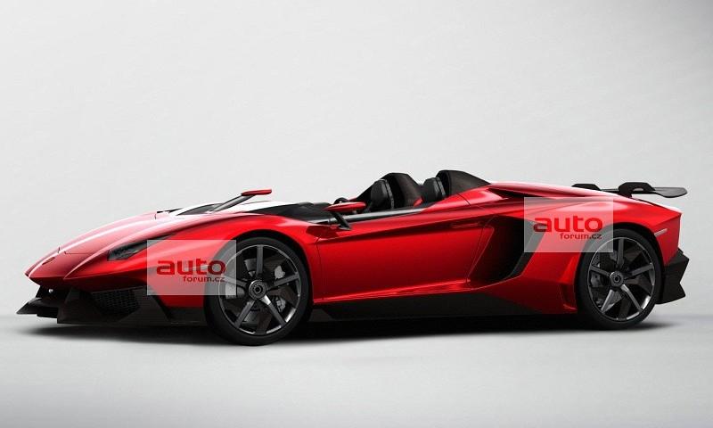 La concept Aventador J Speedster al Salone di Ginevra