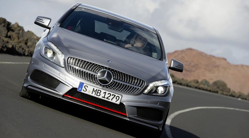 Mercedes Classe A 2012 al Salone di Ginevra
