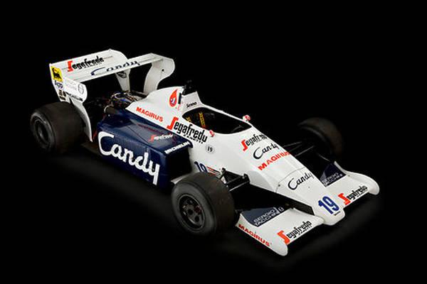 All'asta la prima Formula 1 di Ayrton Senna