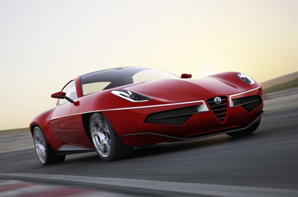 Touring Superleggera Alfa Romeo Disco Volante