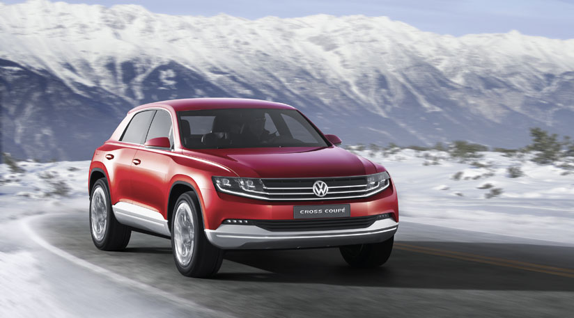 Volkswagen Cross Coupe al Salone di Ginevra