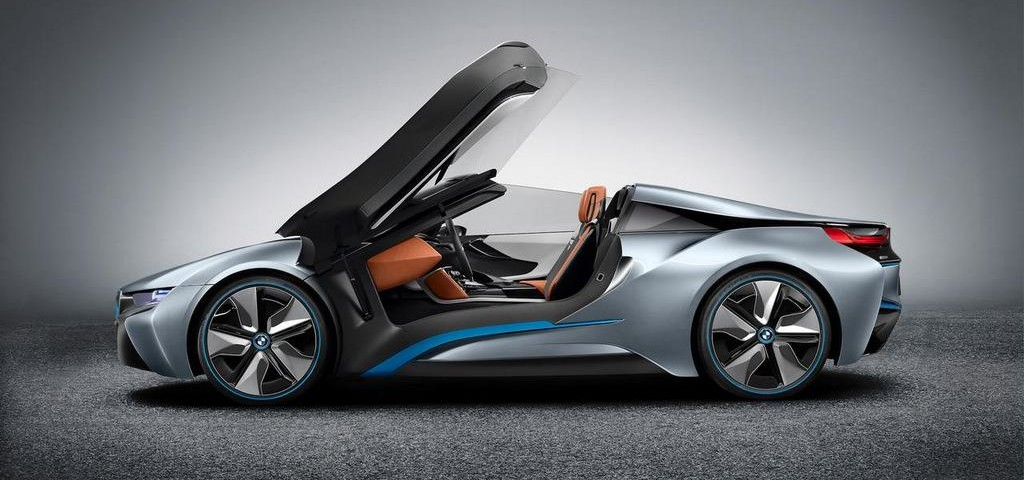BMW i8 annunciata una versione Spyder
