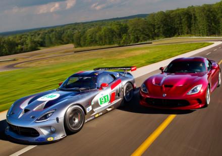 Dodge Viper GTS-R e SRT