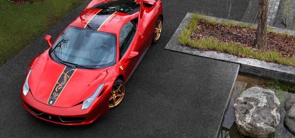Per il ventesimo anniversario della Ferrari in Cina la 458 Italia Dragone edizione limitata