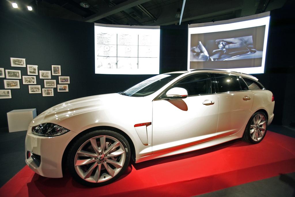 Intervistiamo Daniele Maver e Marco Santucci di Jaguar ala presentazione Italiana della XF Sportbrake
