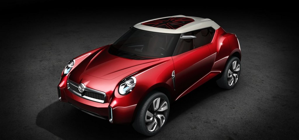 La concept SUV MG Icon al salone di Pechino