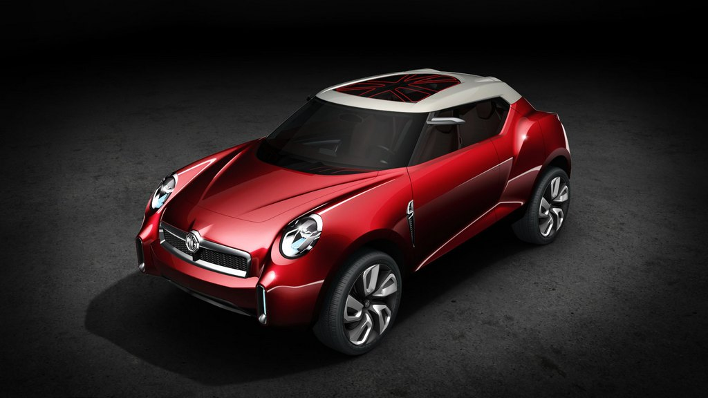 La concept SUV MG Icon al salone di Pechino
