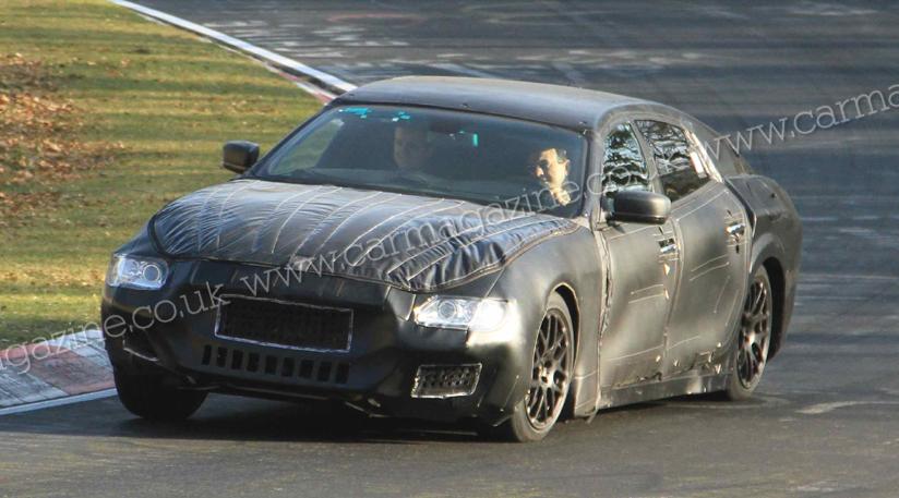 Spiata la nuova Maserati Quattroporte