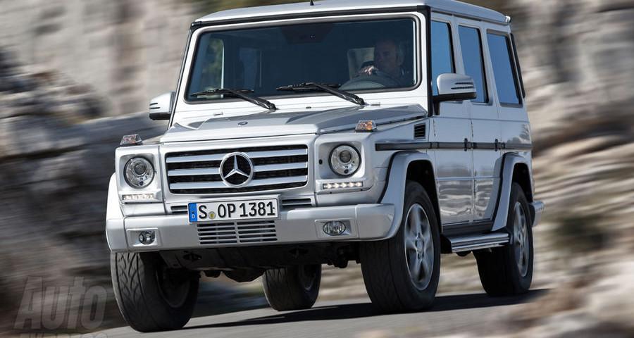 Piccolo Restyling per la Classe G Mercedes