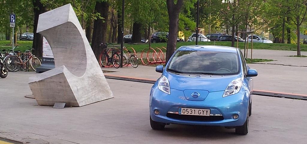 Nissan Leaf la nostra prova alla Triennale di Milano