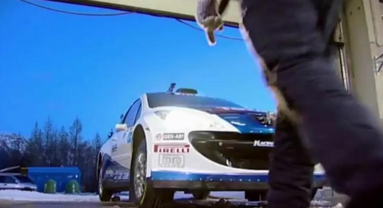 Peugeot 207 Rally una prova sullo Zoncolan
