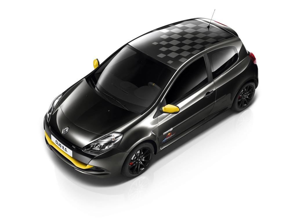 Renault presenta una serie limitata della Clio RS per celebrare Vettel F1