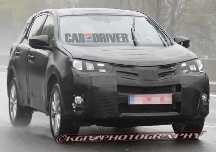 Spiato il nuovo Rav4 Toyota