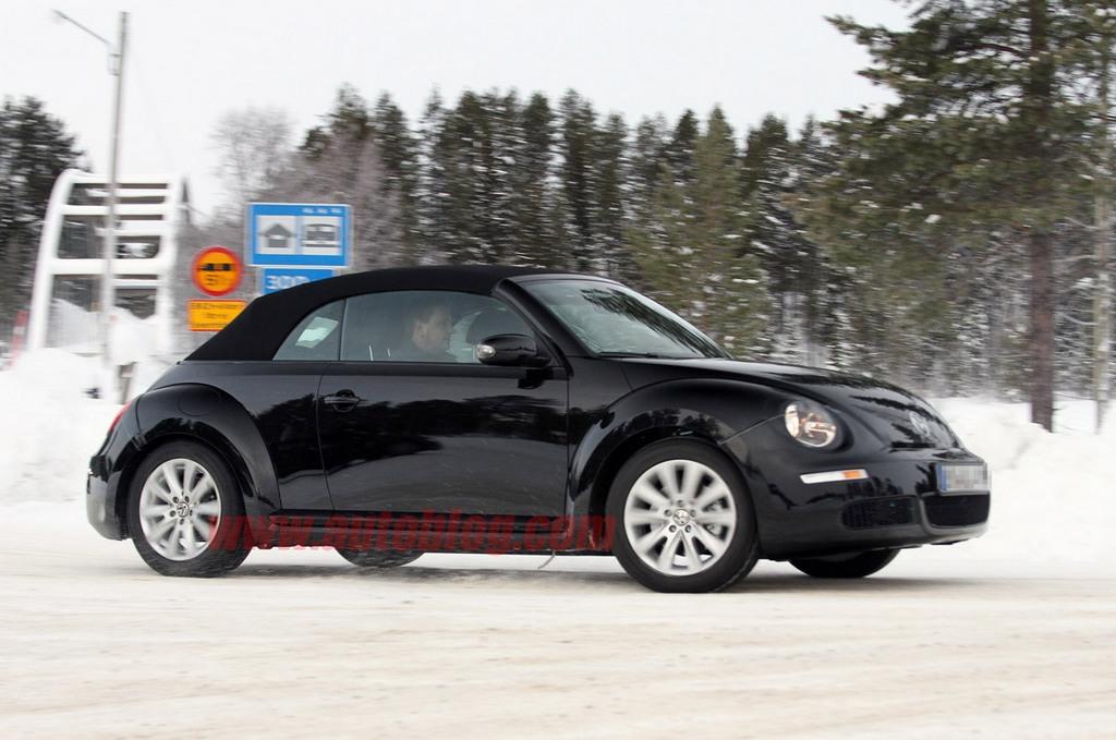Confermata la versione cabrio del Maggiolino Volkswagen