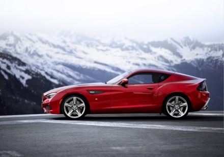 BMW Zagato coupe svelata a Villa d'Este