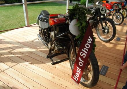 Vince la Gilera 500 Rondine a Villa D'Este 2012