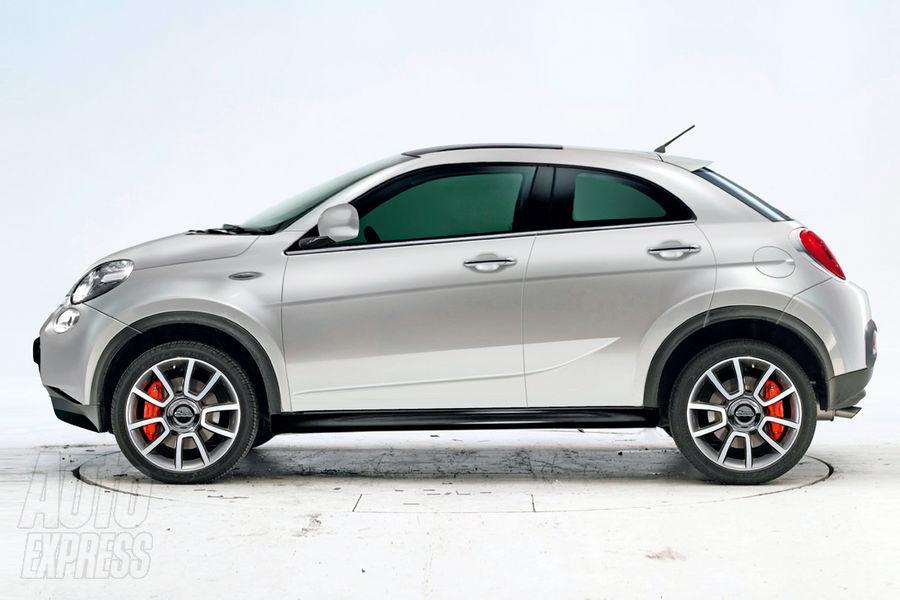 Continuano gli sviluppi della Fiat 500 X SUV