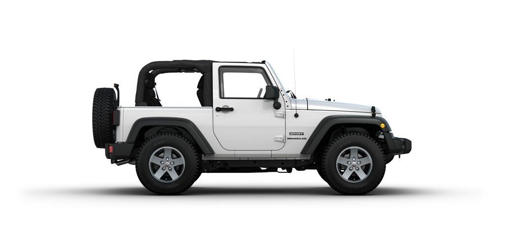 Jeep Wrangler Cabrio una edizione in esclusiva per l'Italia