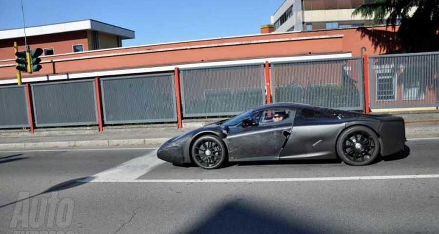 Foto spia della Nuova Ferrari Enzo