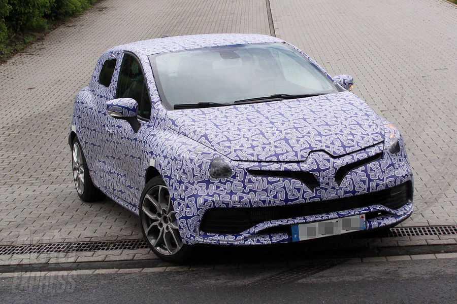 Nuova Renault Clio Sport in fase di sviluppo