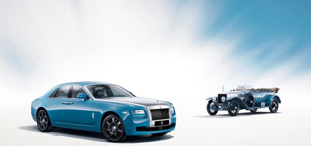 Rolls Royce Ghost Alpine Trial